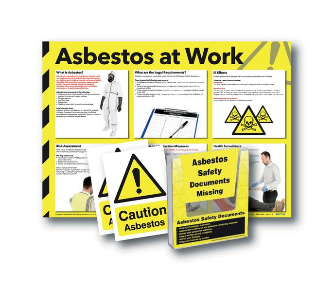 Asbestos Safety Document Holder