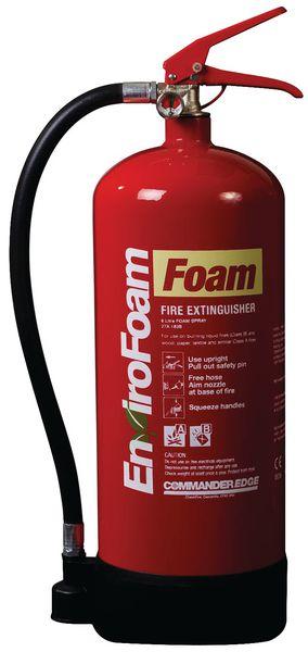Commander Edge 6LTR Envirofoam Fire Extinguishers