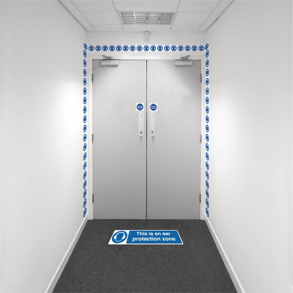 Safety Zoning Wall Marking Kits - Ear Prot. Zone