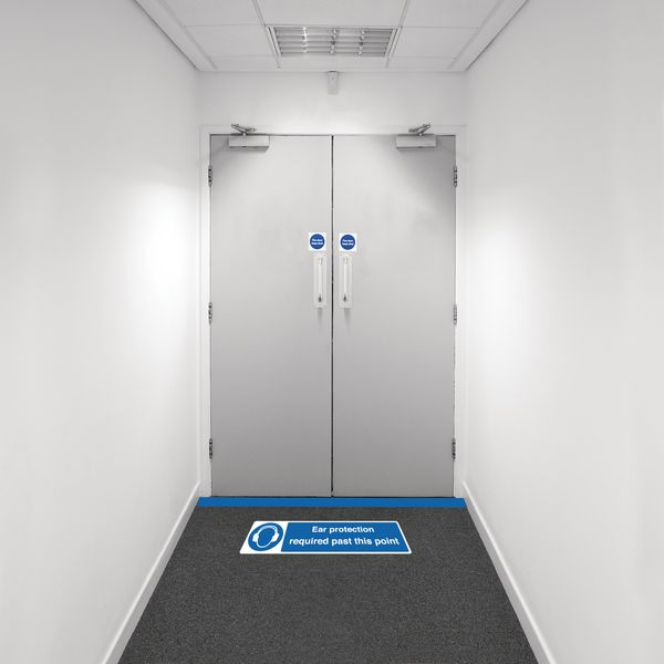 Safety Zone Floor Marking Kits - Ear Protection