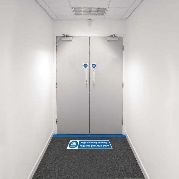 Safety Zoning Floor Marking Kits - High Vis