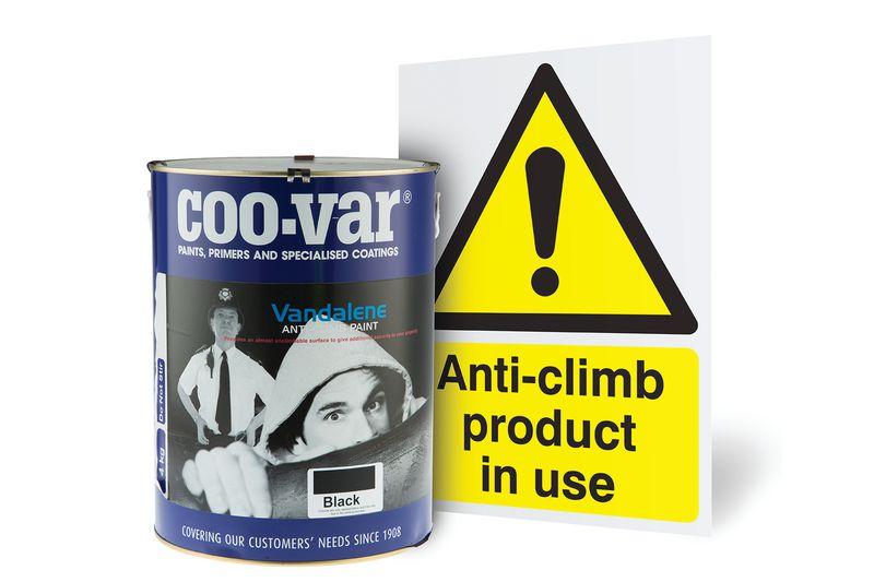 Anti-Climb Paint Kit