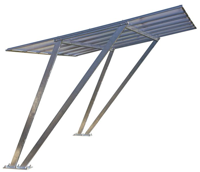 Galvanised Steel Cycle Shelter