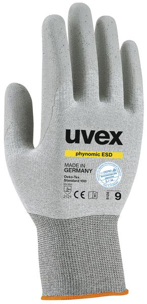 Uvex Phynomic ESD Grip Gloves