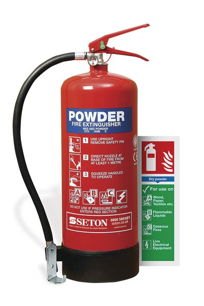 ABC Powder Fire Extinguisher Kits