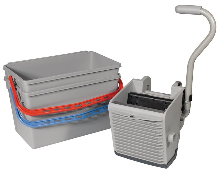 Large Twin Bucket Mopping Kit