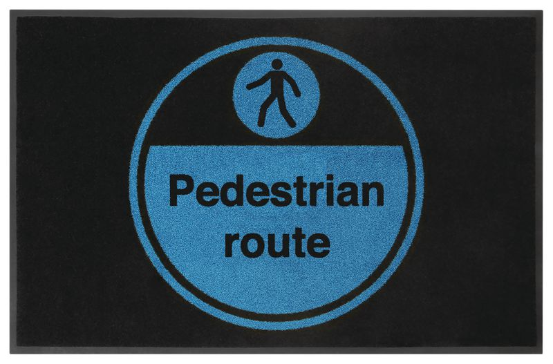 Pedestrian Route Highly Visible Mats