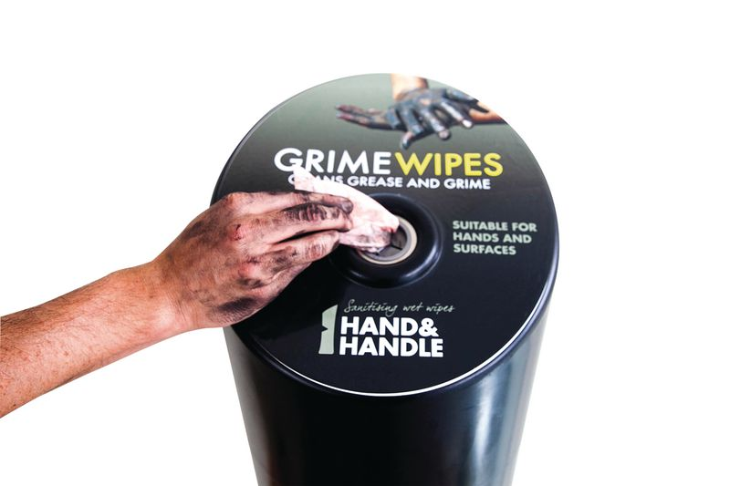 Hand & Handle Grime Wipe Station