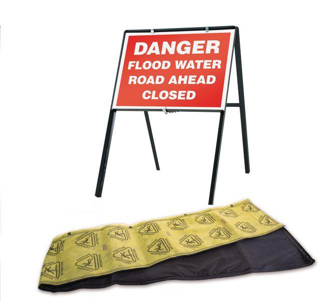 HydroSnake and Traffic Sign Flood Kit