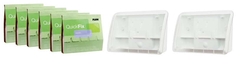 Plum Quickfix Plasters + FREE Dispenser - Limited Offer