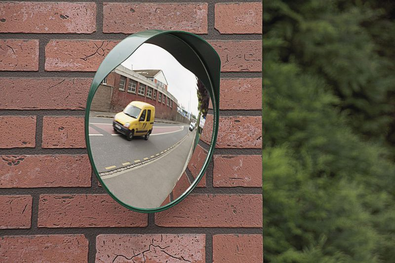 Convex Traffic Mirror