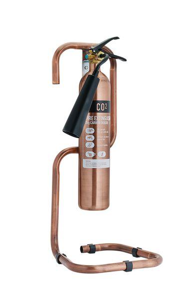 Metallic Tubular Fire Extinguisher Stands
