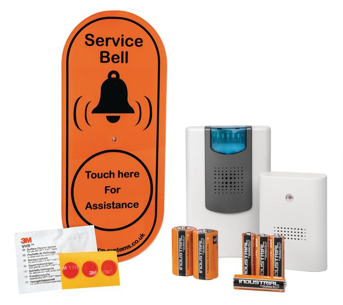 Service Bell Wireless Door Chimes