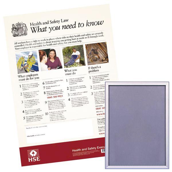 Snap Frame & HSE Poster Bundle Kits