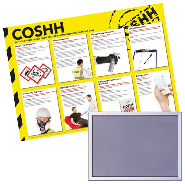 Snap Frame & COSHH Poster Bundle
