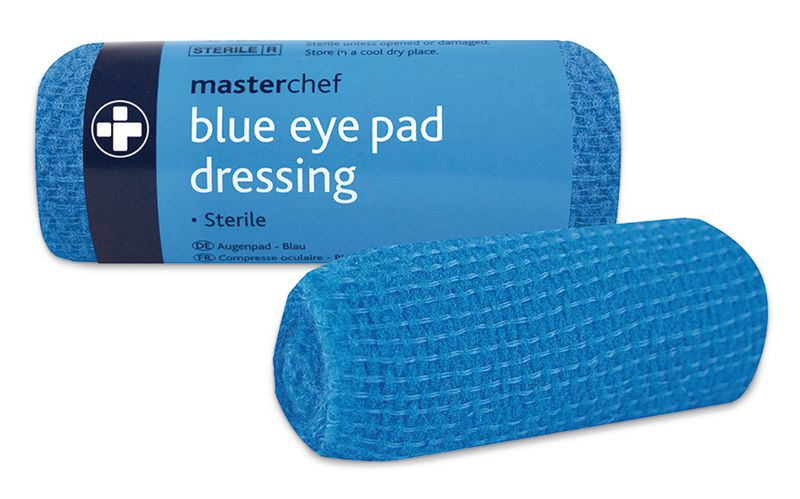 Blue Eye Patch Dressing & Bandage