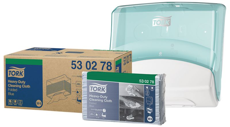 PROMOTION Tork® Folded Cleaning Cloth & FREE Dispenser SAVE £29.99