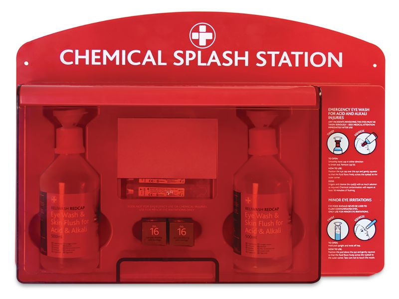 Redcap™ Chemical Splash Station