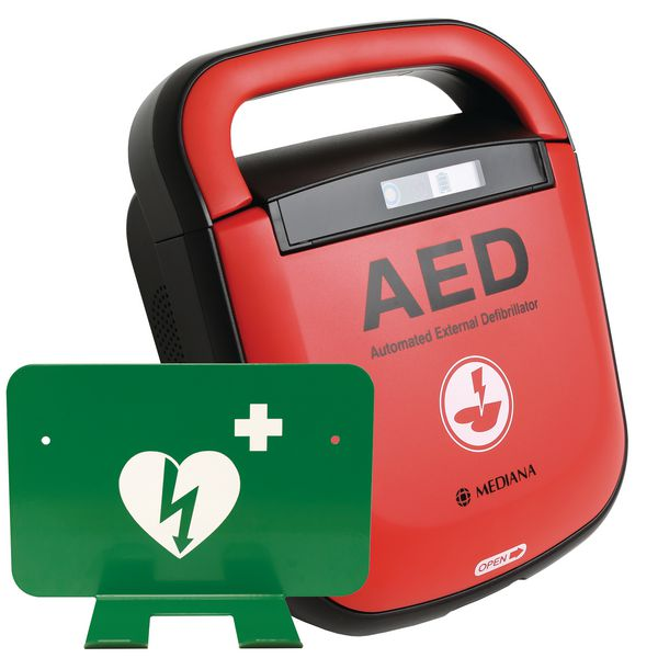 Mediana HeartOn AED With FREE Wall Bracket