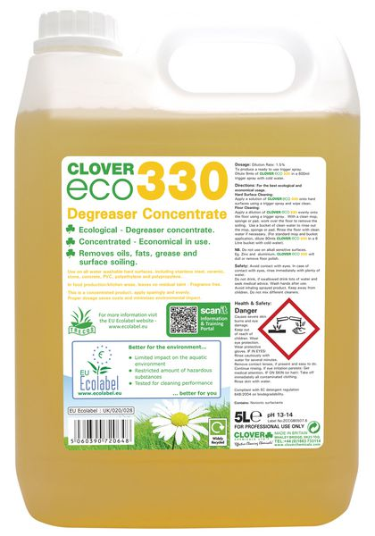 Clover 330 ECO Concentrated Degreaser