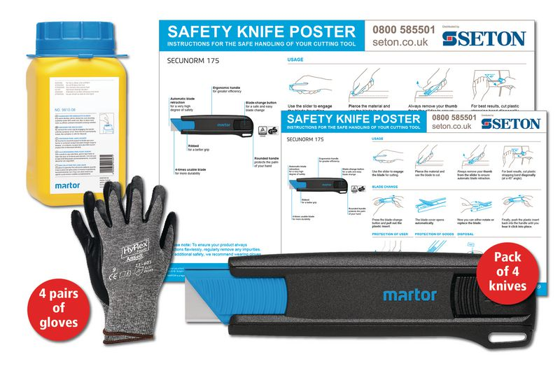 Martor SECUNORM 175 Safety Knife Poster Bundles