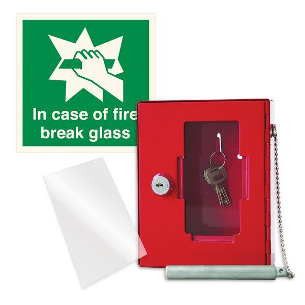 Emergency Key Box & Sign Kit
