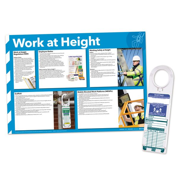 Towertag & Work at Height Poster Sign Kit