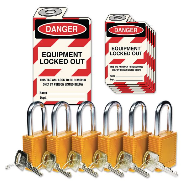 Lockout Padlock & Tag Kits