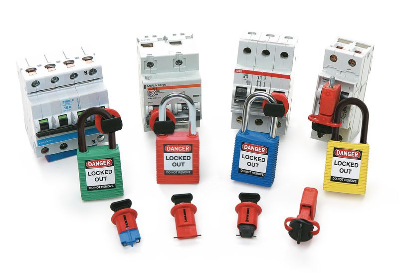 Miniature Circuit Breaker Lockout Demo Kit