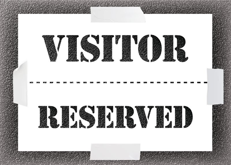 Reusable Stencil - Visitor/Reserved