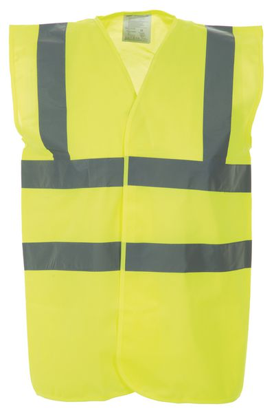 Hi-Visibility Vest With Reflective Belt & Straps