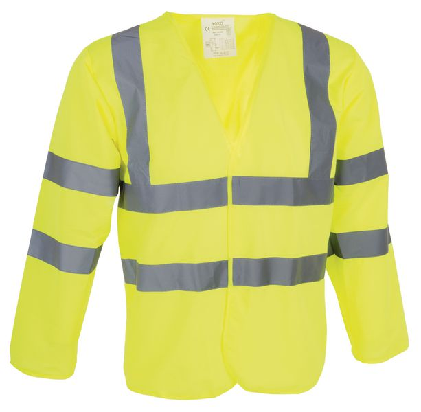 High Visibility Long Sleeve Jerkin