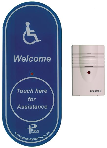 Touch Glass Wireless Alerter