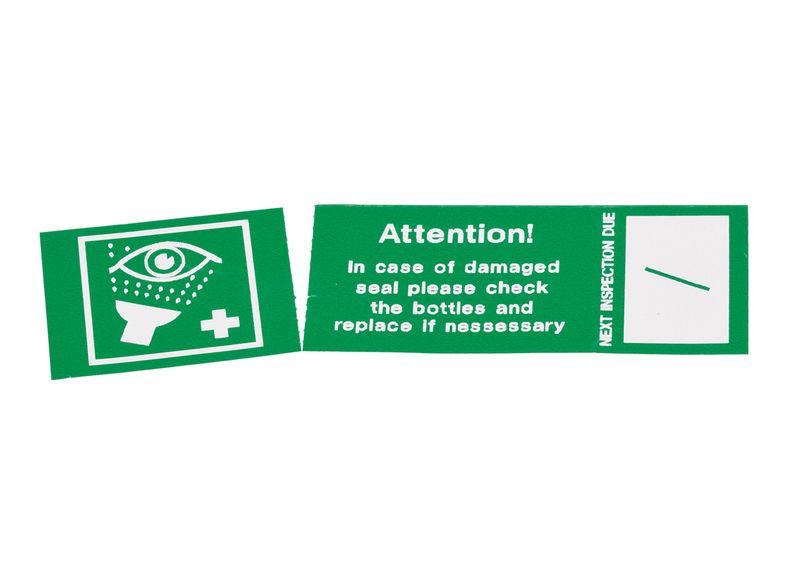 Eyewash Symbol - Tamperproof Eye Wash Labels