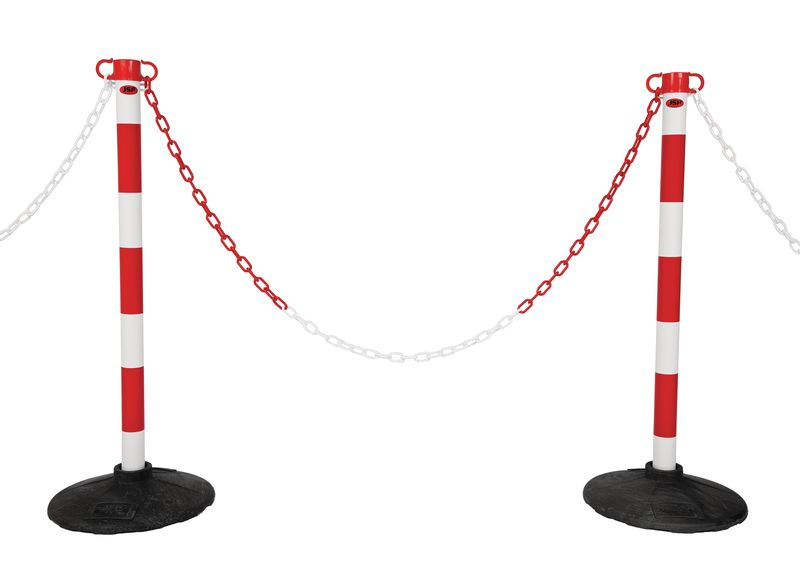 JSP® Plastic Post & Chain Barrier Kits