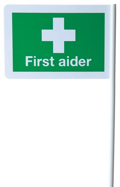 First Aider Flag