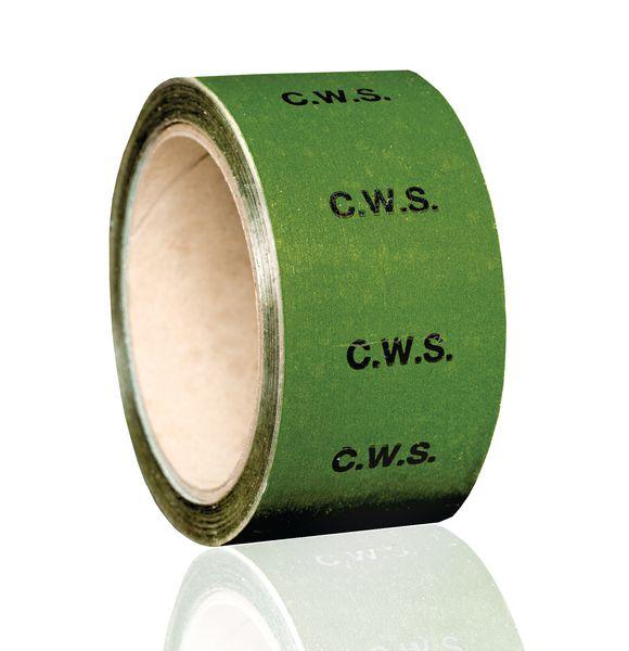British Standard Pipeline Marking Tape - C.W.S