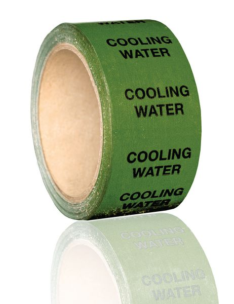 British Standard Pipeline Marking Tape - Cooling Water
