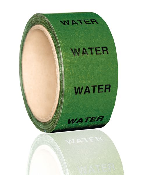 British Standard Pipeline Marking Tape - Water