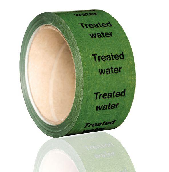 British Standard Pipeline Marking Tape - Treated Water
