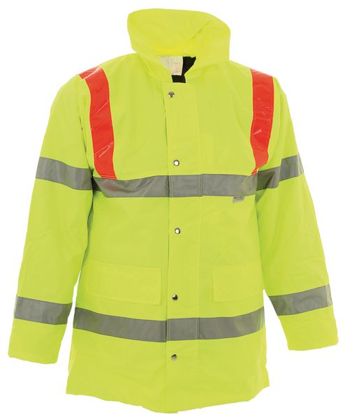High-Visibility Storm Coat