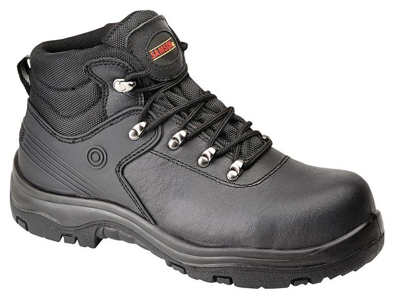 Samson Black Hiker Boots