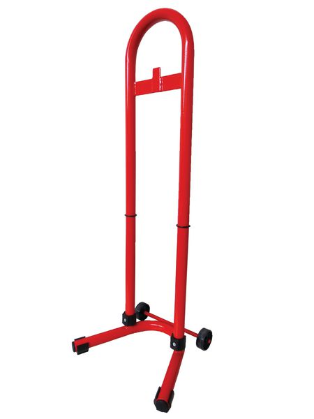 Mobile Tubular Fire Extinguisher Stand
