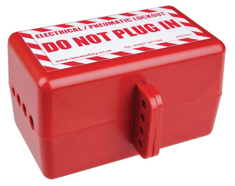 Large Electrical & Pneumatic Lockout