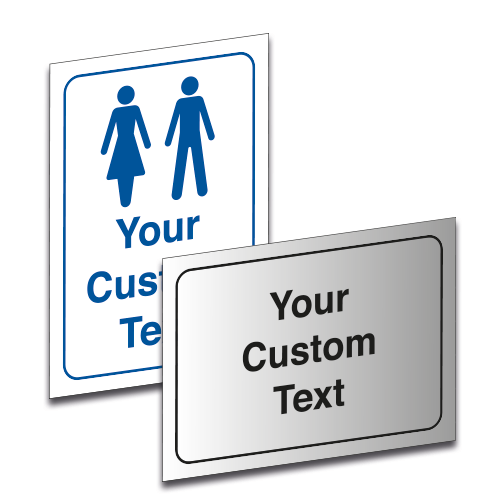 Custom Housekeeping Safety Signs
