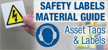 Quality Control & Safety Labels Material Guide
