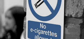 Electronic Cigarette Safety Signs
