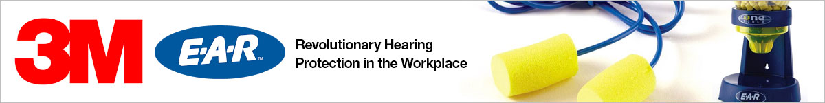 3M E-A-R Ear Plugs - The leader in hearing protection for over 40 years |
