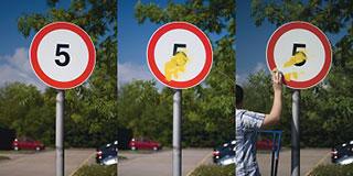 anti graffiti sign