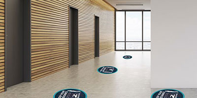 Floor Signage - Social Distancing